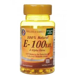 Holland & Barrett - Vitamin E 100 IU - 100 softgels